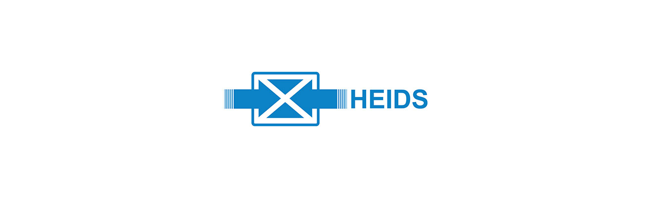 heids logo on a white background