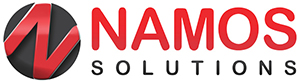 corporate logo for namos solutions
