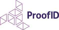 corporate logo for ProofID